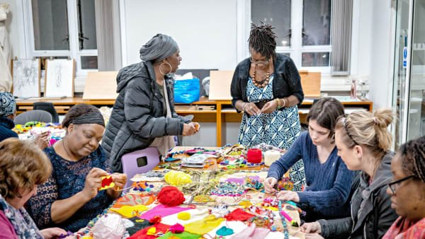 Sewing and Stories in Leeds