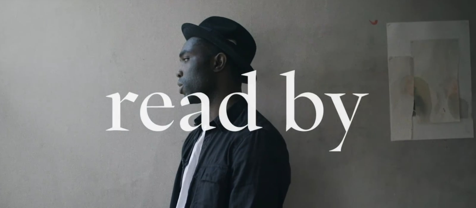 """Read By"" – Poetry Films with the Adrian Brinkerhoff Poetry Foundation"