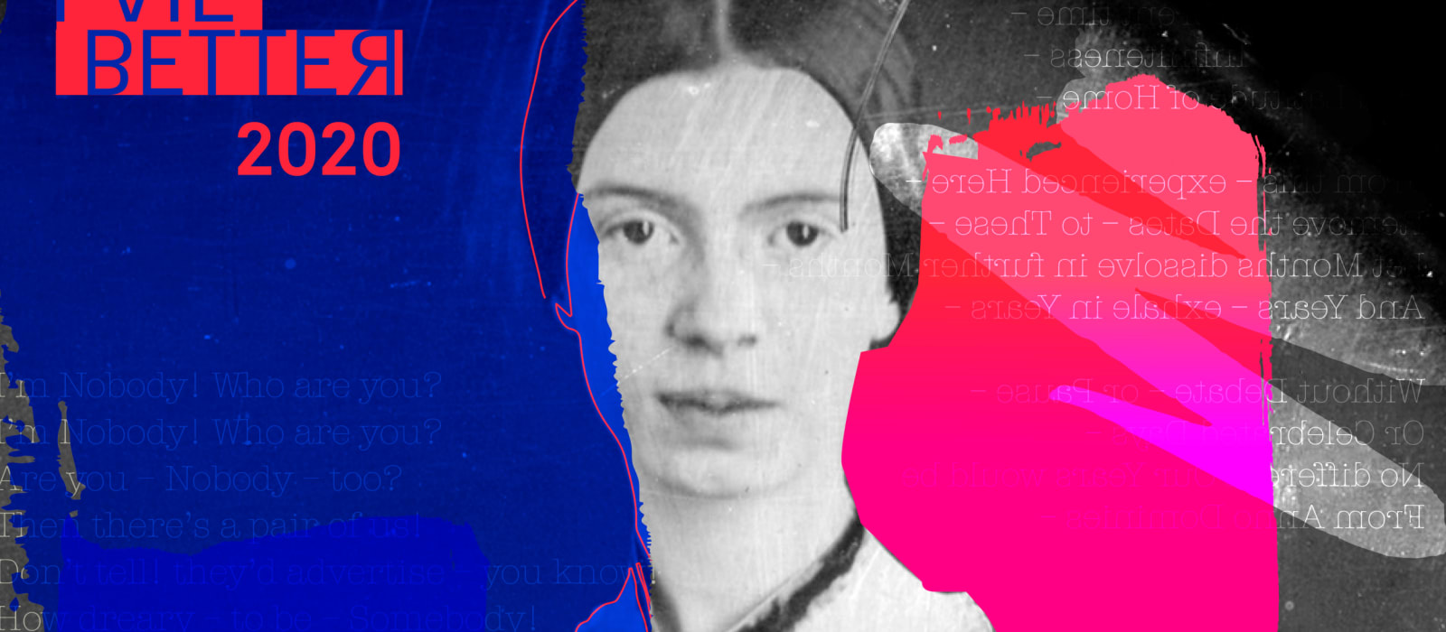 Profile image of poet Emily Dickinson