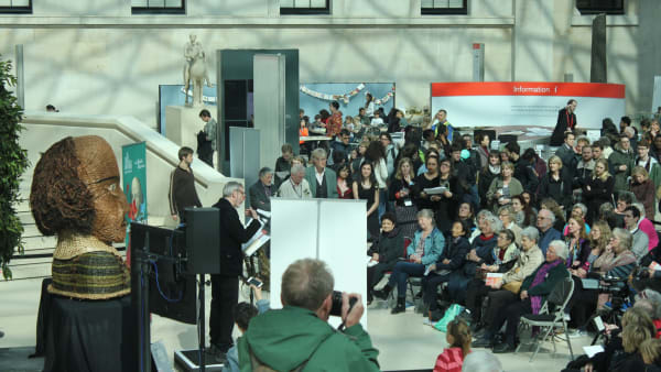 Sonnetathon at the British Museum to celebrate 400 years of Shakespeare